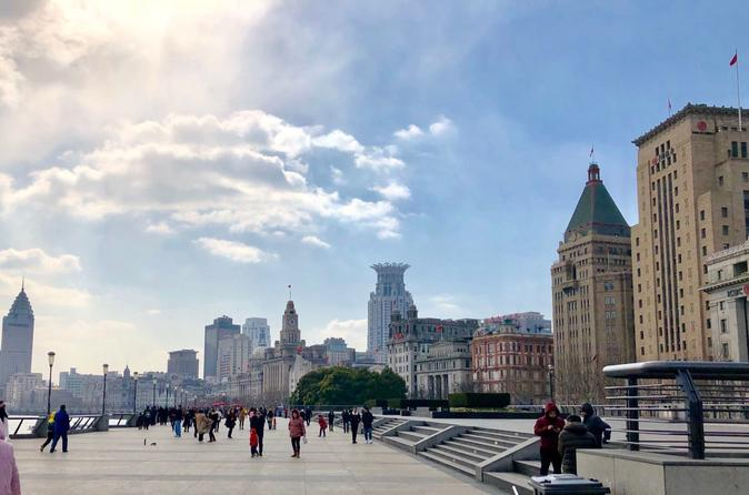 3-Hour Private Shanghai Bund Walking Tour with Optional Afternoon Tea