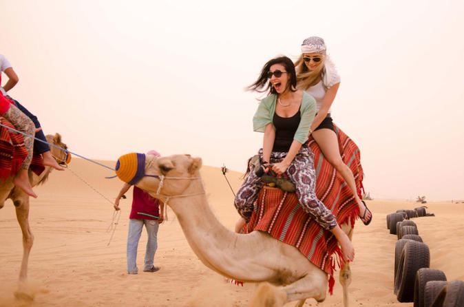 Camel Riding Safari - Dubai