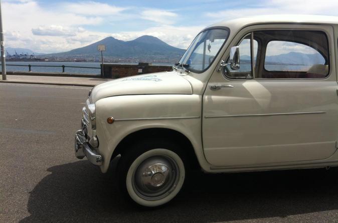 Private Tour: Naples Food Tasting Tour by Vintage Fiat 500 or Fiat 600
