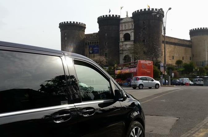 Private transfer from Naples to the Amalfi coast choose your destination!