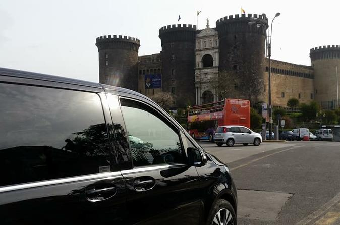 Private transfer from Naples to the Amalfi with stop up to 3 hours in Pompeii