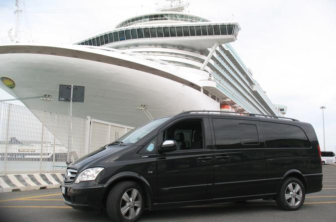 private transfer from Rome to Amalfi coast