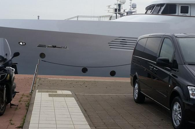 Private transfer from Rome to Capri up to 2 people all incuded read description