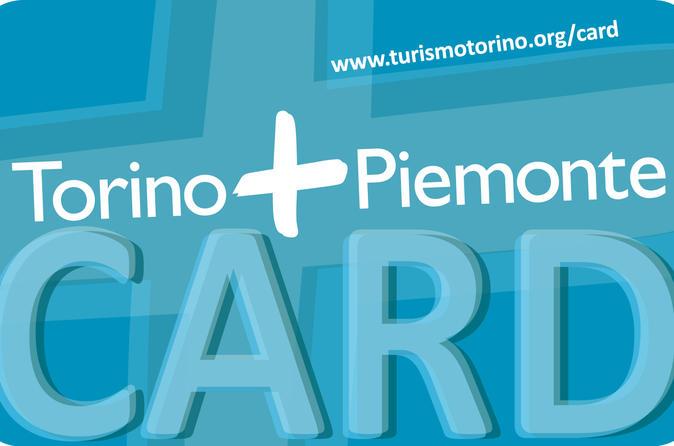Passe Turístico de Turim: Torino e cartão de Piemonte