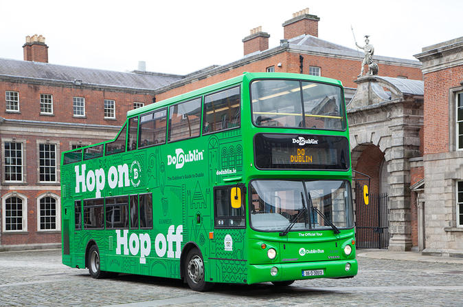 Dublin freedom pass unlimited transport and hop on hop off sightseeing in dublin 453501