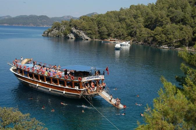 12 Island Boat Trip From Dalyan