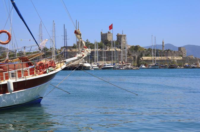 Bodrum peninsula cruise including lunch in bodrum 148395