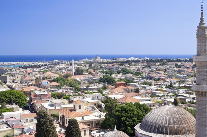 Rhodes Independent Day Trip from Bodrum by Hydrofoil Boat
