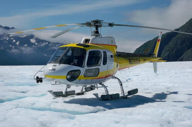 Juneau shore excursion helicopter tour and guided icefield walk in juneau 149228