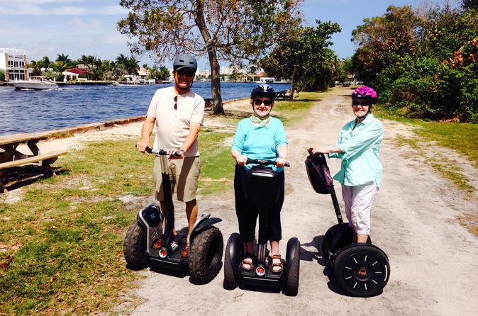 30 Min Segway Tour of Hugh Taylor Birch State Park