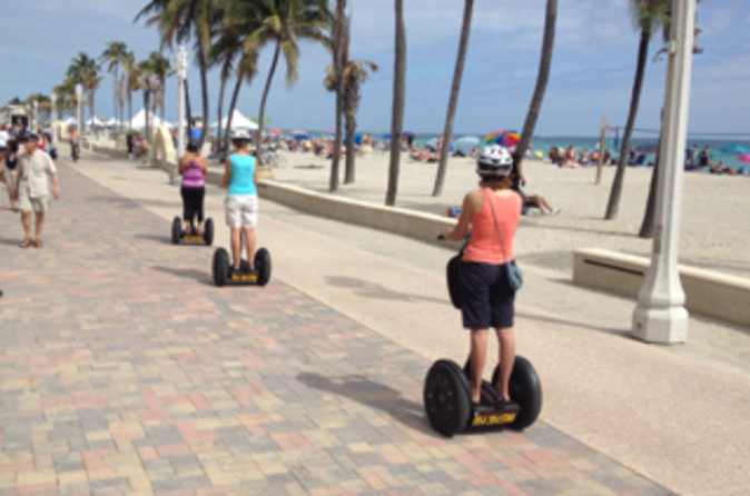 Recorrido en Segway por Hollywood Beach