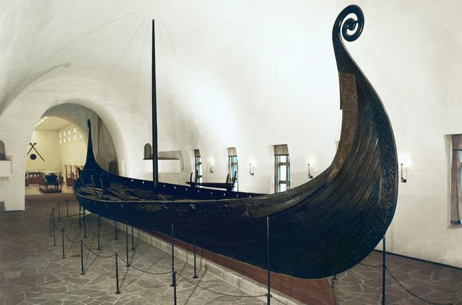Ingresso de entrada para o Museu do Navio Viking e Museu Histórico