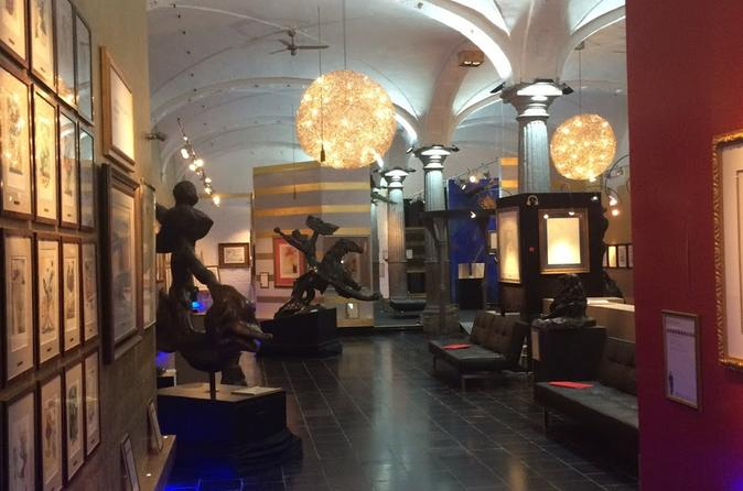 Salvator Dalí Exhibition Entrance Ticket
