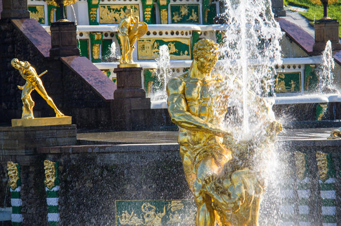 Private Peterhof Tour from St Petersburg (Priority Access)