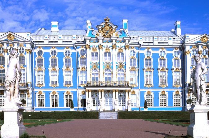 Pushkin Catherine Palace Transfer from St Petersburg