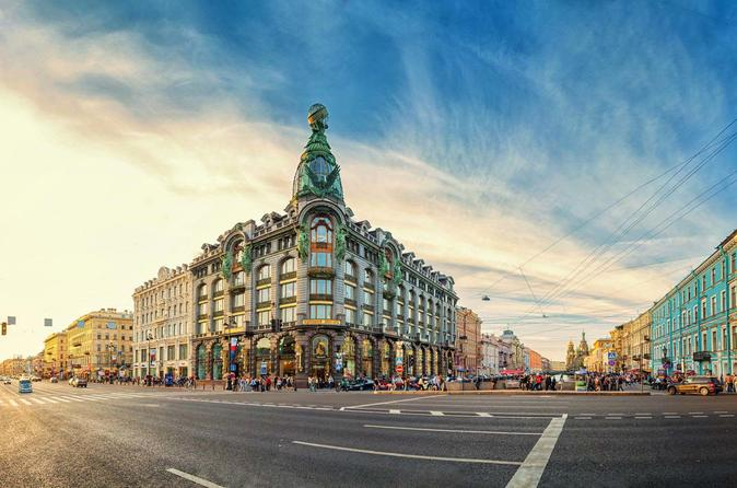 St Petersburg City Sightseeing Shore Excursion and Hermitage (Visas Included)