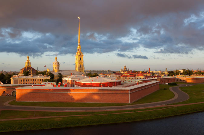 Walking Tour to Peter and Paul Fortress in St Petersburg with a Private Guide