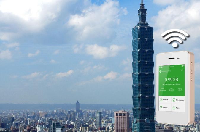 Taiwan 4G LTE Unlimited WiFi Hotspot Rental at Taoyuan International Airport