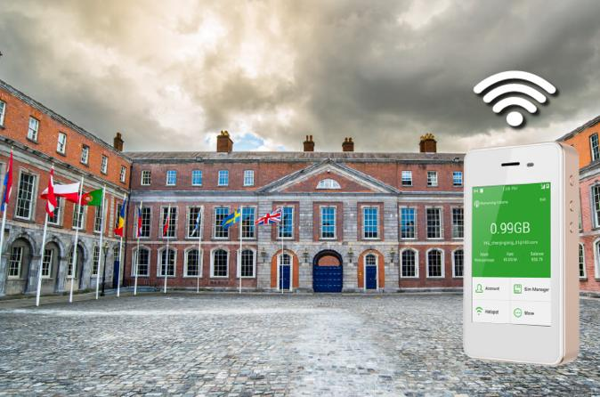WiFi Rental in Ireland - Free delivery and return anywhere in the US