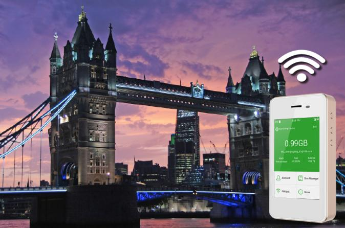 WiFi Rental in The UK  - Free delivery and return anywhere in the US