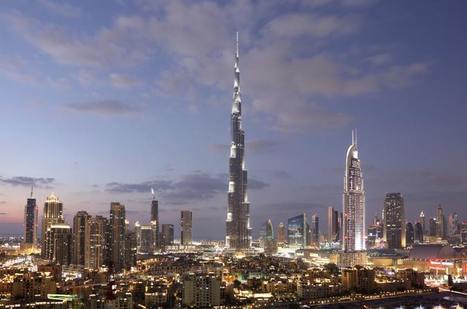 Bilhete de entrada 'No topo - SKY' do Burj Khalifa