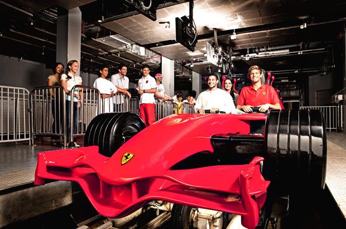 Ingresso normal para o Ferrari World em Abu Dhabi