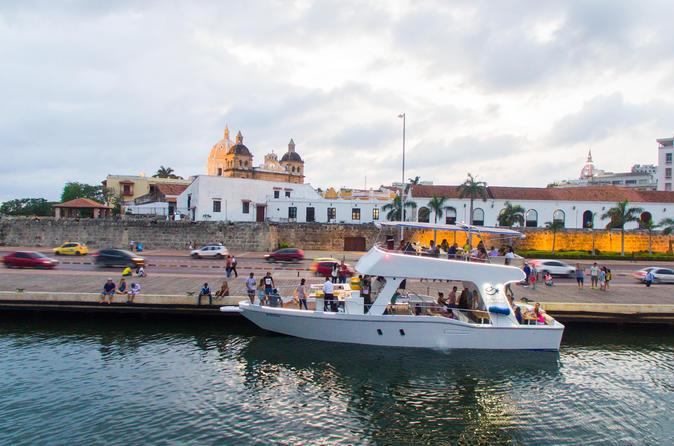 Express Sibarita ao pôr do sol na Baía de Cartagena