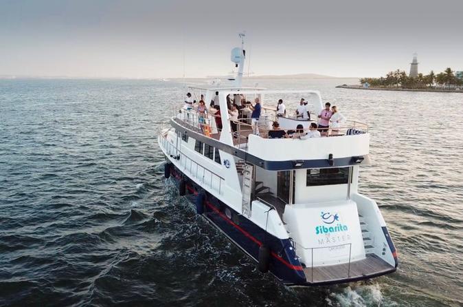 Sibarita Master 4 Course Dinner Cruise and Wine Cartagena