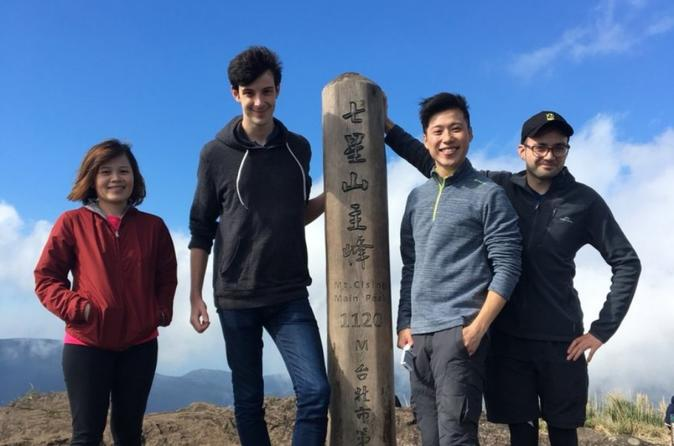 Small Group Hiking Day Tour On Qixing Mountain from Taipei