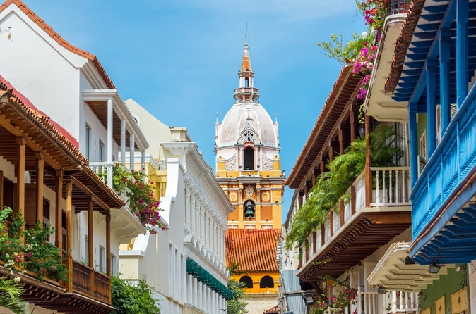 Excursão turística para grupos pequenos pela cidade e Excursão a pé em Cartagena