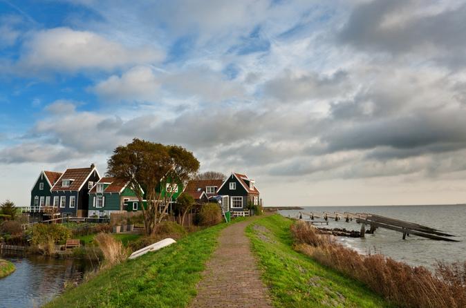 Excursão privada: zona rural holandesa saindo de Amsterdã, incluindo Marken, Volendam e Edam