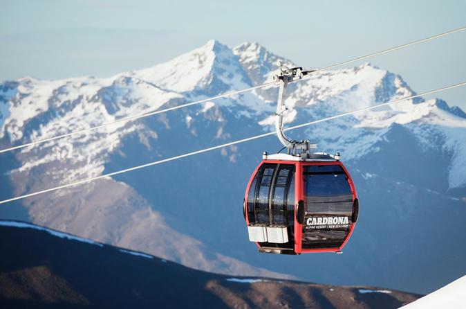 Cardrona Single Day Ski Pass - Wanaka