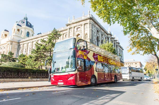 Excursión en autobús Big Bus con paradas libres por Viena
