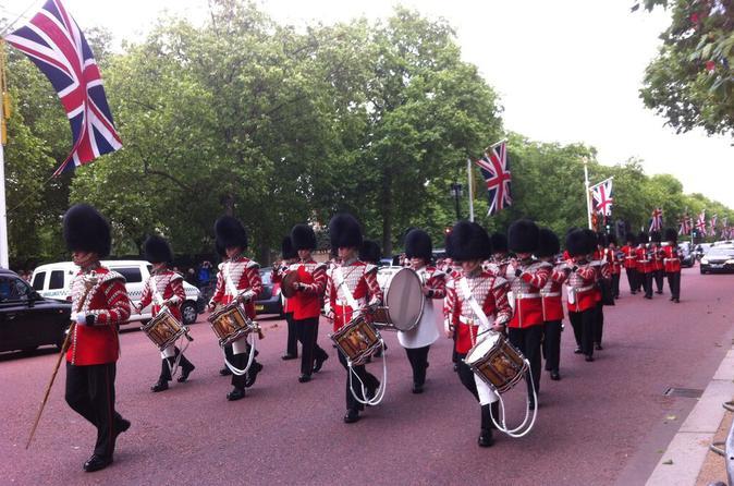 Excursão a pé por Londres incluindo Visita com acesso rápido à Abadia de Westminster e cerimônia da Troca da Guarda