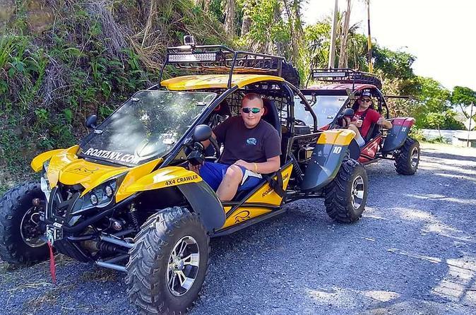 Roatan 4X4 Off-road Dune Buggy Adventure Plus Chocolate & Rum Factory And Beach - Coxen Hole