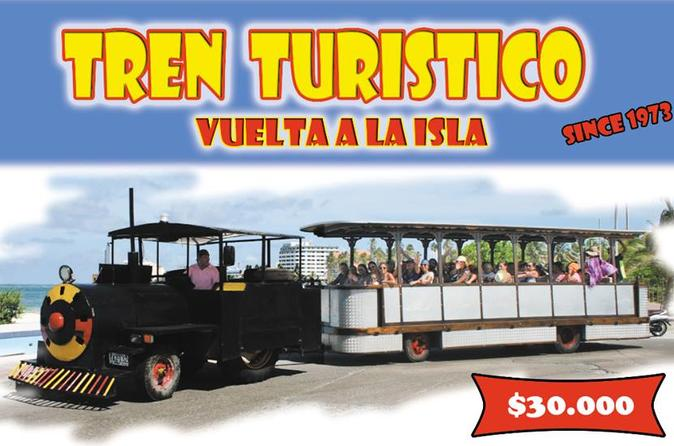 Tour Around the Island of San Andres on Tren Turistico