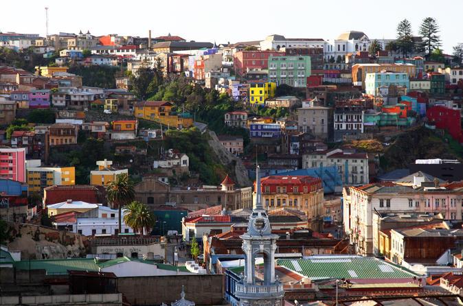 Excursão de meio dia pelos destaques da cidade de Valparaíso