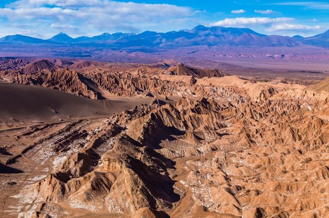 Excursão pelo Valle de la Luna saindo de San Pedro de Atacama
