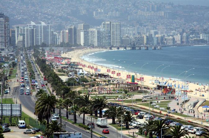 Half-Day Chilean Pacific Coast Tour: Viña del Mar, Reñaca and Concón