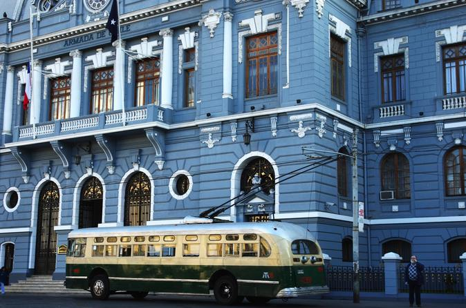 Valparaiso walking tour including funiculars and trolley bus rides in valpara so 322420