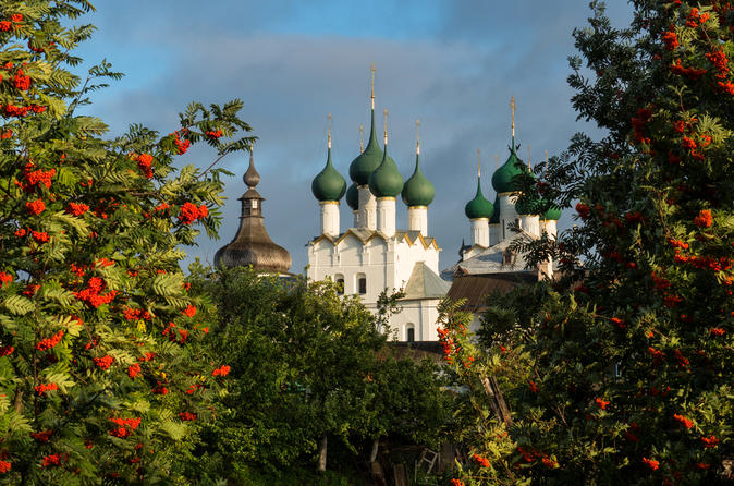 Day Trip to the Gorgeous Citadel of Rostov