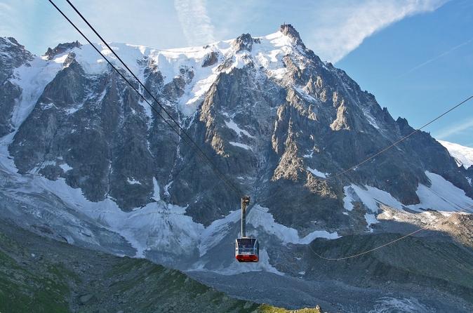 Excursão de dia para os Alpes Franceses Chamonix de Genebra em um ônibus com vista panorâmica