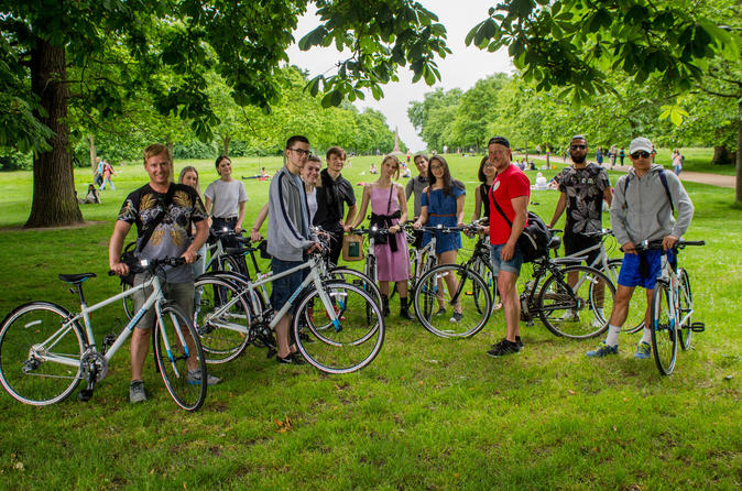 Come along for a fun cycle tour to the Palaces in London and a stroll in Soho