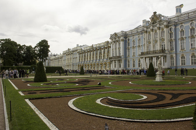 Catherine Palace & Amber Room Tour
