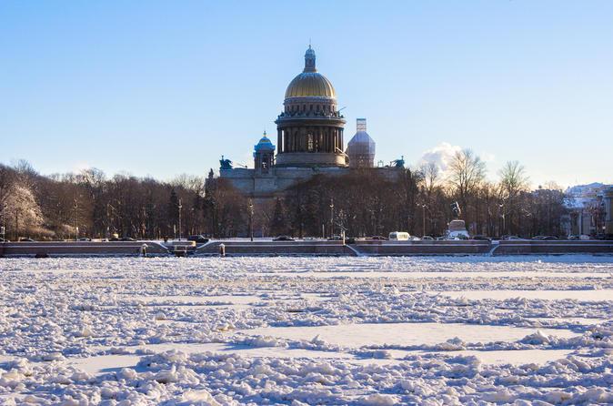 Economy City Tour in Slow Season St Petersburg