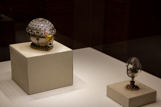 Faberge Museum Small Group Tour in St Petersburg
