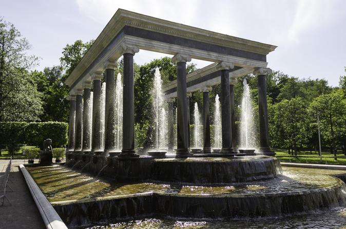 Peterhof Fountain Parks and Grand Cascade Grottos Tour