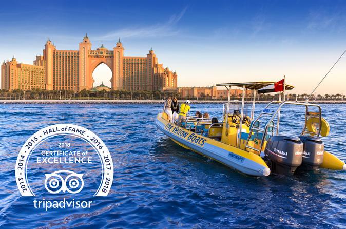 Dubai rib boat cruise palm jumeirah and dubai marina in dubai 691086