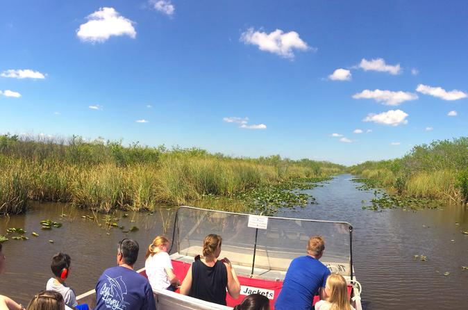 Everglades Airboat Ride Ranger Guided Eco Tour From Miami 2019