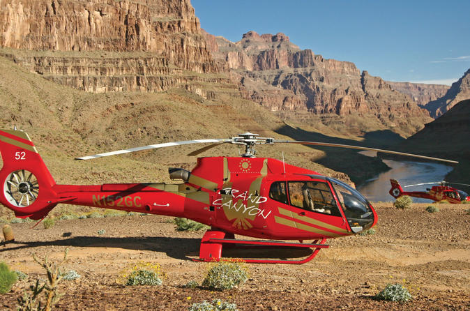 Grand Canyon Helicopter Tour From Las Vegas With Champagne Picnic 2017